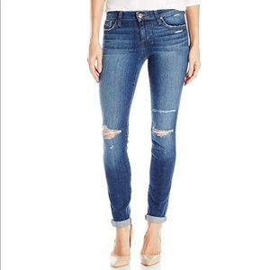 JOES Icon Distressed Skinny Rolled Ankle Jeans
